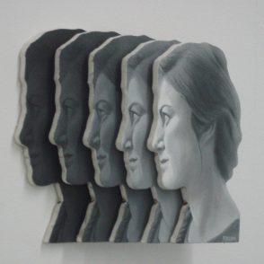 gelaagde portretten guust persoon christiana van lammeren